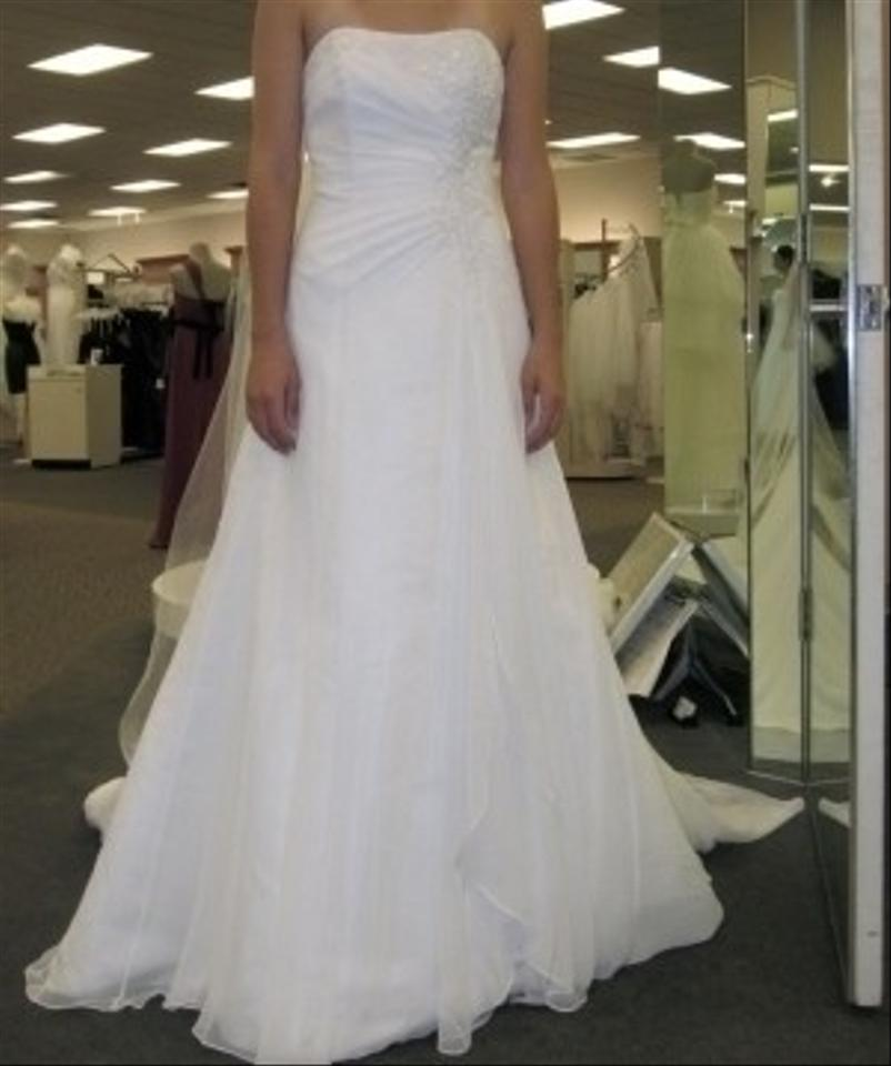 david 39 s bridal v9409 with slip wedding dress tradesy weddings