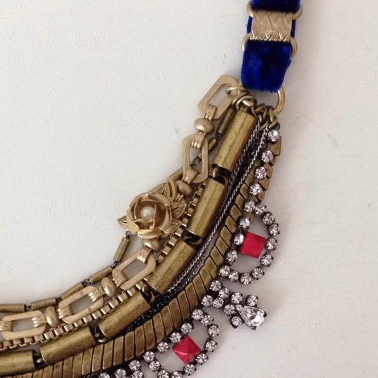 Juicy Couture Layered Velvet Drama Necklace