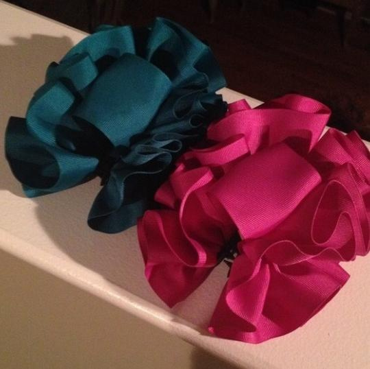Other Vintage Scrunchie Ribbon Clips