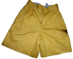 Liz Claiborne Shorts Yellow