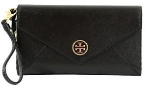 Tory Burch Clutch Wristlet in Black