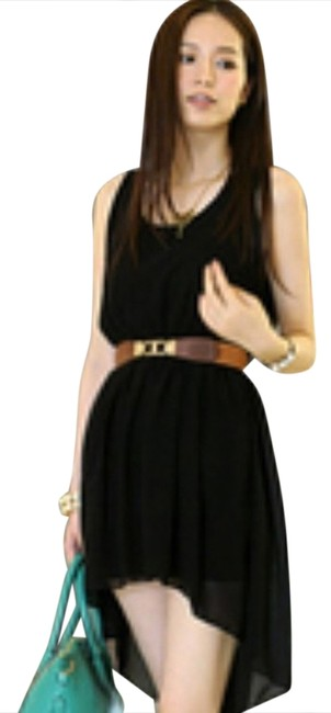 Preload https://item5.tradesy.com/images/black-high-low-mid-length-short-casual-dress-size-2-xs-920739-0-0.jpg?width=400&height=650