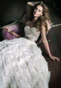 Lazaro 3063 Wedding Dress