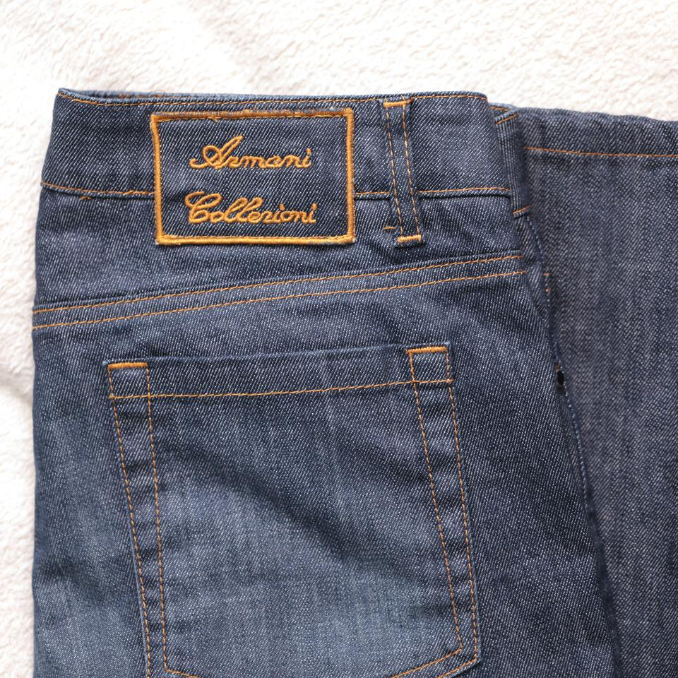 great prices performance sportswear various colors Armani Collezioni Blue Medium Wash Boot Cut Jeans Size 28 (4, S) 78% off  retail