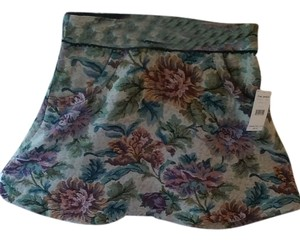 Free People Mini Skirt Flowers pattern