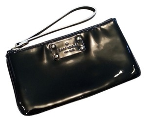 Kate Spade Patent Leather Wristlet in Black