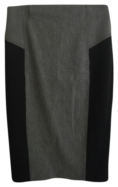Item - Grey and Black Sexy Pencil Skirt Size 0 (XS, 25)