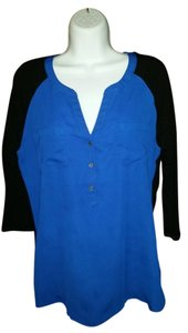 Express T Shirt blue and black