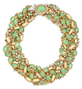 Kate Spade Fabulous Torsade Twist of Eco-Stylish Wood, Glass & Crystals! Kate Spade Land and Sea Necklace NWT Beach Dreams of Sea Turtles and the Call of the Sea...