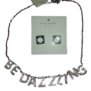 Kate Spade TWO piece listing++Bonuses Spade studs AND 'Be Dazzling' Necklace