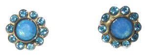 Sorrelli Petite Blue Swarovski Crystal Stud Earrings by Sorrelli