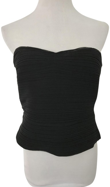 Preload https://item5.tradesy.com/images/armani-collezioni-bustier-black-top-921154-0-2.jpg?width=400&height=650
