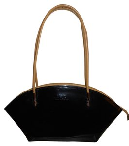 Beijo Satchel Tote Leather Shoulder Bag