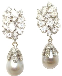 One of Kind Red carpet diamond earrings