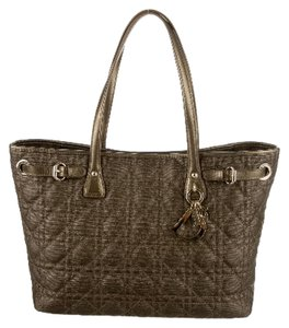 Dior Tote in Antique bronze