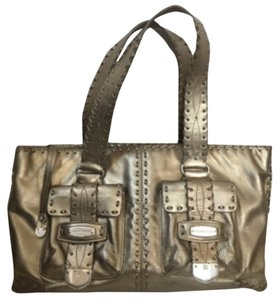 Michael Kors Satchel in Metallic Gold