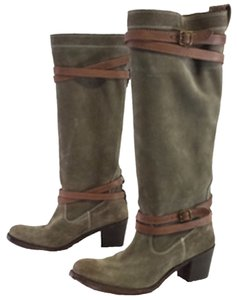 Frye Box Straps Winter Ready Fatigue Boots