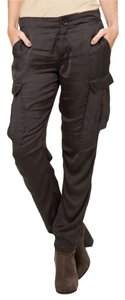 Rag & Bone Silk Cargo Cargo Cargo Pants Grey