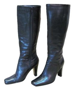 Nine West Leather Good Condition Black Boots