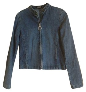 Laundry by Shelli Segal Denim Womens Jean Jacket