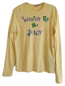 Juicy Couture T Shirt Yellow