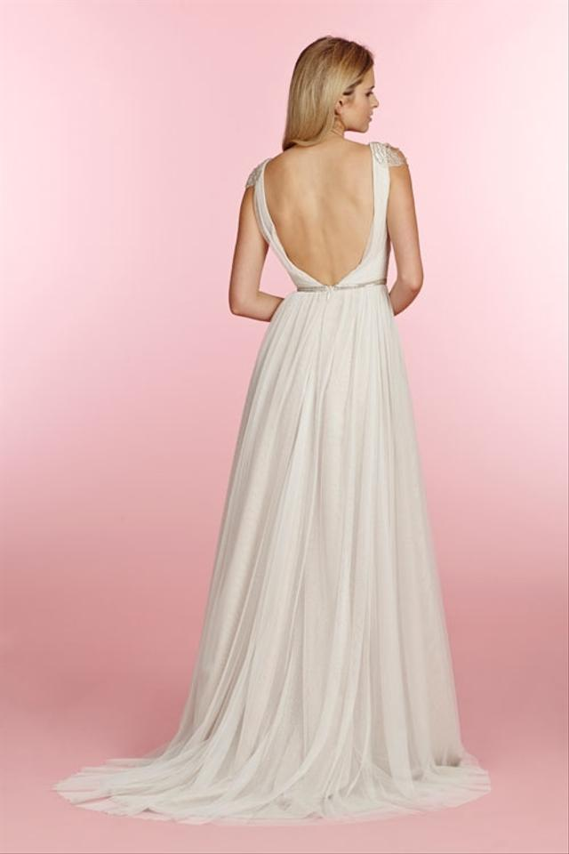 Blush by hayley paige blush by hayley paige 1501 giada for Hayley paige wedding dresses cost