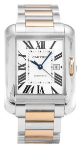 Cartier Cartier Tank Anglaise Medium Rose Gold and Steel Ladies Watch W5310037