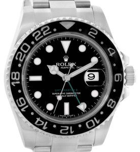Rolex Rolex GMT Master II Ceramic Bezel Mens Stainless Steel Watch 116710