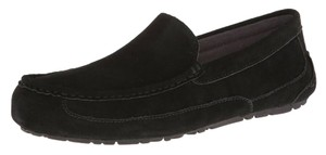 UGG Australia Mens Footwear Gifts For Men Ugg Mens Slippers Mens Winter Wear Black Flats