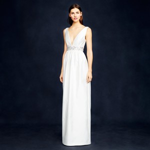 J.Crew Ivory Annabelle Sexy Wedding Dress Size 2 (XS)