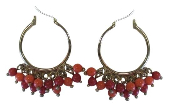 Preload https://item2.tradesy.com/images/goldtone-red-coral-dangle-balls-earrings-921611-0-0.jpg?width=440&height=440