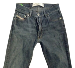 Diesel Industry Made In Italy Stretch Medium Rise. Straight Leg Jeans-Medium Wash
