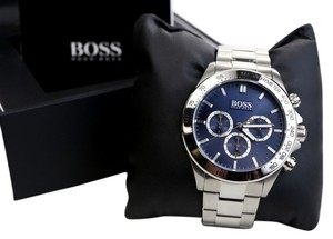 Hugo Boss HUGO BOSS CHRONOGRAPH WATCH BLUE DIAL Model number/Serial no: HB 213.1.14.2602 / 5.033.648