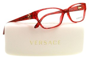 Versace Versace VE3172 5001 Lizard Red Full Rim Womens Rx Eyeglasses