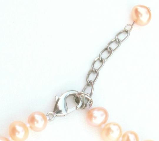 Other Freshwater Pink, Pearl Sterling Silver Bracelet