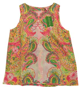 Lilly Pulitzer Top Double Trouble Engineered