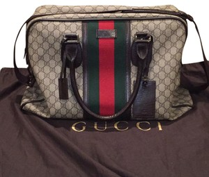 Gucci GG Canvas Travel Bag