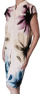 Equipment short dress Floral Silk on Tradesy