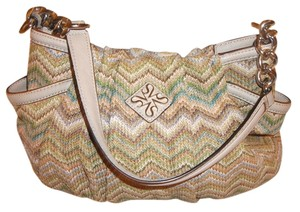 Vera Wang Chevron Plaid Hobo Bag