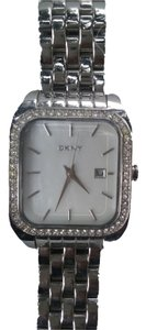 DKNY DKNY WATCH NY 8337 Silver WOMEN Square Crystal Stainless Steel