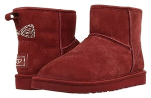 UGG Australia Womens Womens Winterwear Gifts For Women Oxblood Boots