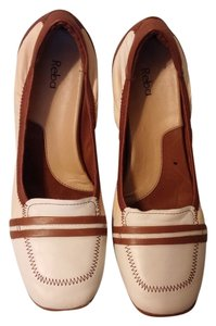 Reba Mocha/white/Tan Sandals