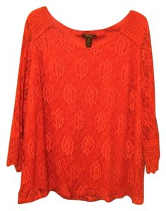 Style & Co Top Deep Coral