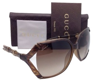 Gucci New GUCCI Sunglasses GG 3508/S 23DJD Brown Striped Tortoise Frame w/ Brown Gradient Lenses