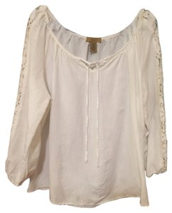 Valerie Stevens Top White