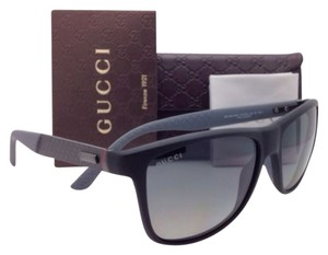 Gucci New GUCCI Sunglasses GG 1047/N/S 4ZYWJ Black + Carbon Fiber Frame w/ Polarized Grey Lenses