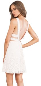 Free People short dress soft pink on Tradesy
