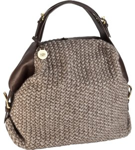 UGG Australia Womens Gifts For Women Knit Satchel in Mushroom