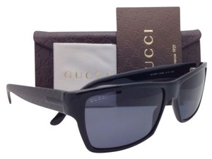 Gucci New GUCCI Sunglasses GG 1000/S 807BN 57-15 Black Frames with Grey Lenses