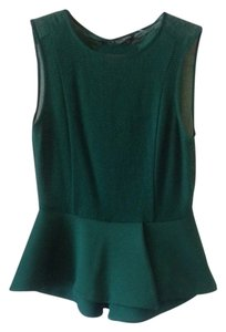 Zara Top emerald green